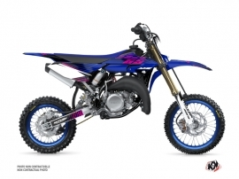 Yamaha 65 YZ Dirt Bike Flow Graphic Kit Pink