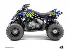 Kit Déco Quad Flow Yamaha 90 Raptor Jaune