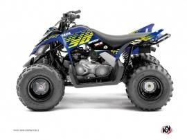 Kit Déco Quad Flow Yamaha 90 Raptor Jaune