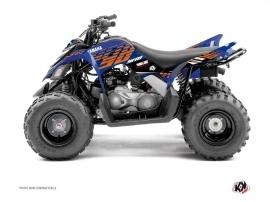 Kit Déco Quad Flow Yamaha 90 Raptor Orange
