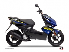 Kit Déco Scooter Flow Yamaha Aerox Jaune