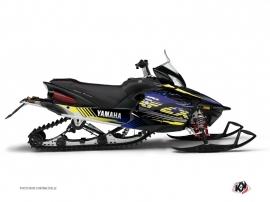 Kit Déco Motoneige Flow Yamaha Apex Jaune
