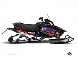 Kit Déco Motoneige Flow Yamaha Apex Rouge