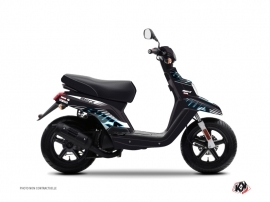 Kit Déco Scooter Flow Yamaha BWS Bleu
