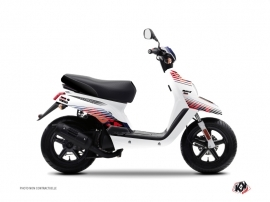 Kit Déco Scooter Flow Yamaha BWS Rouge