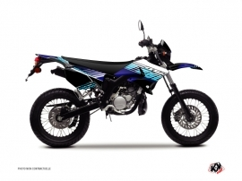 Yamaha DT 50 50cc Flow Graphic Kit Blue