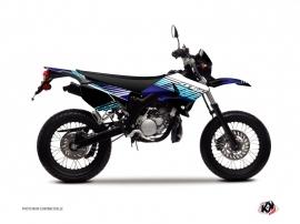 Kit Déco 50cc Flow Yamaha DT 50 Bleu
