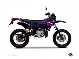 Kit Déco 50cc Flow Yamaha DT 50 Rouge