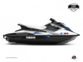 Kit Déco Jet-Ski Flow Yamaha EX Blanc Bleu LIGHT