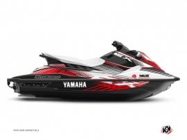 Kit Déco Jet-Ski Flow Yamaha EX Blanc Rouge