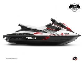 Kit Déco Jet-Ski Flow Yamaha EX Blanc Rouge LIGHT