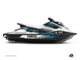 Kit Déco Jet-Ski Flow Yamaha EX Bleu