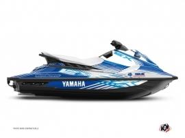 Kit Déco Jet-Ski Flow Yamaha EX Bleu Blanc
