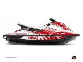 Kit Déco Jet-Ski Flow Yamaha EX Rouge