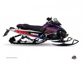 Kit Déco Motoneige Flow Yamaha FX Nitro Rouge