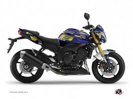 Kit Déco Moto Flow Yamaha FZ 8 Jaune
