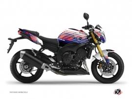 Kit Déco Moto Flow Yamaha FZ 8 Rouge
