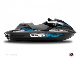 Kit Déco Jet Ski Flow Yamaha FZR-FZS Bleu