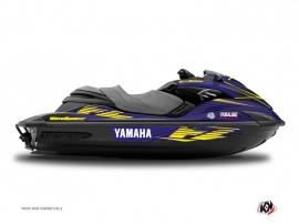 Kit Déco Jet Ski Flow Yamaha FZR-FZS Jaune
