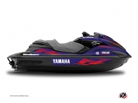 Kit Déco Jet Ski Flow Yamaha FZR-FZS Rouge