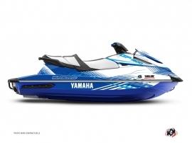 Kit Déco Jet-Ski Flow Yamaha GP 1800 Blanc Bleu