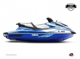 Kit Déco Jet-Ski Flow Yamaha GP 1800 Blanc Bleu LIGHT