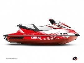 Kit Déco Jet-Ski Flow Yamaha GP 1800 Blanc Rouge