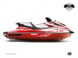 Kit Déco Jet-Ski Flow Yamaha GP 1800 Blanc Rouge LIGHT