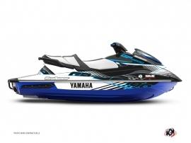Kit Déco Jet-Ski Flow Yamaha GP 1800 Bleu