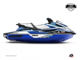 Kit Déco Jet-Ski Flow Yamaha GP 1800 Bleu LIGHT