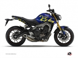 Kit Déco Moto Flow Yamaha MT 09 Jaune