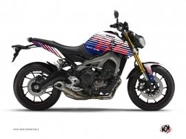 Kit Déco Moto Flow Yamaha MT 09 Rouge
