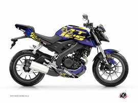 Kit Déco Moto Flow Yamaha MT 125 Jaune