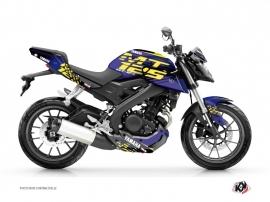 Kit Déco Moto Flow Yamaha MT 125 Jaune