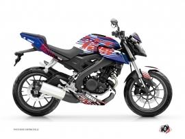 Kit Déco Moto Flow Yamaha MT 125 Rouge