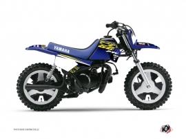 Kit Déco Moto Cross Flow Yamaha PW 50 Jaune