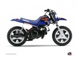 Kit Déco Moto Cross Flow Yamaha PW 50 Orange