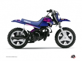 Kit Déco Moto Cross Flow Yamaha PW 50 Rose