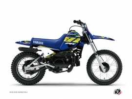 Kit Déco Moto Cross Flow Yamaha PW 80 Jaune