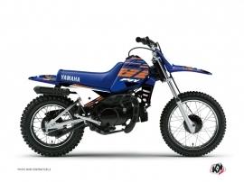 Kit Déco Moto Cross FLOW Yamaha PW 80 Orange