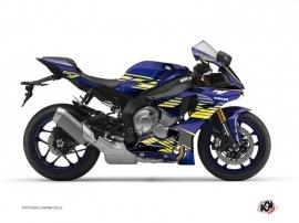 Kit Déco Moto Flow Yamaha R1 Jaune