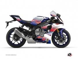 Kit Déco Moto Flow Yamaha R1 Rouge