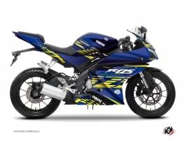 Kit Déco Moto Flow Yamaha R125 Jaune