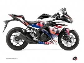 Kit Déco Moto Flow Yamaha R3 Rouge