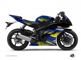 Kit Déco Moto Flow Yamaha R6 Jaune