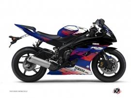 Kit Déco Moto Flow Yamaha R6 Rouge