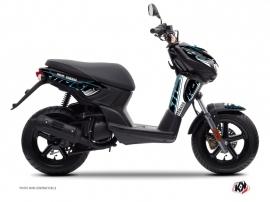 Kit Déco Scooter Flow Yamaha Slider Bleu