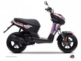 Kit Déco Scooter Flow Yamaha Slider Rouge