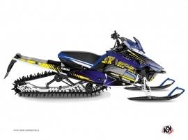 Kit Déco Motoneige Flow Yamaha SR Viper Jaune