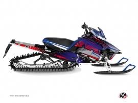 Kit Déco Motoneige Flow Yamaha SR Viper Rouge